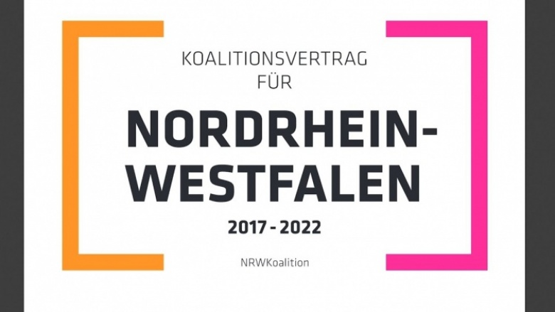 #bewegt - Unterwegs für Nordrhein-Westfalen. Der Koalitionsvertrag.