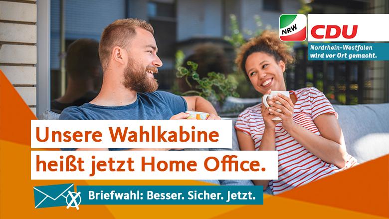Unsere Wahlkabine heißt jetzt Home Office.