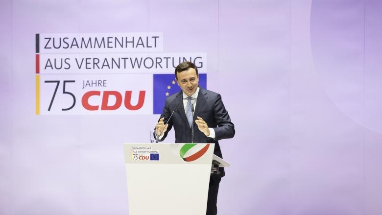 Bundes-Generalsekretär Paul Ziemiak
