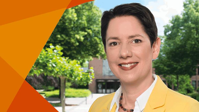 Silke Gorissen - unsere Landratskandidatin für den Kreis Kleve.