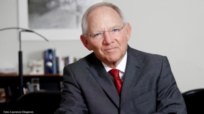 """Schäuble: """"Niemand hat das Recht zu behaupten, er allein vertrete 'das' Volk."""""""