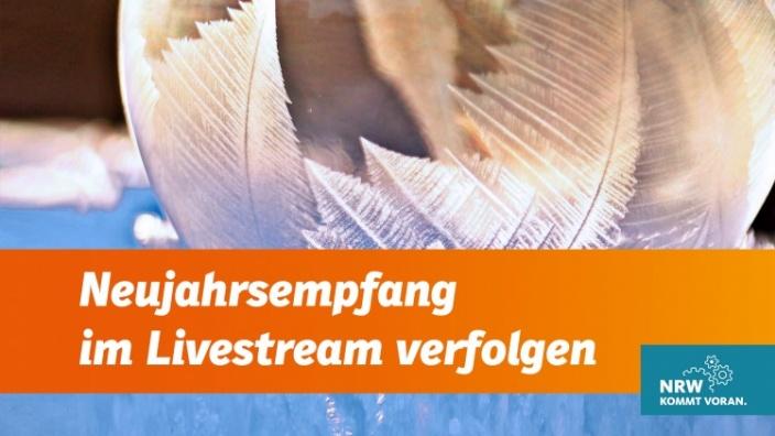 Neujahrsempfang im Livestream verfolgen