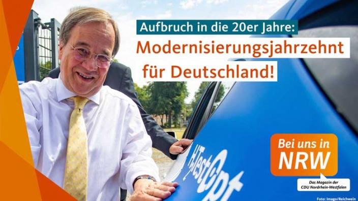 Modernisierungsjahrzehnt für Deutschland