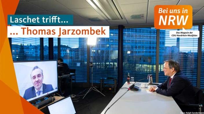 Laschet trifft Thomas Jarzombek