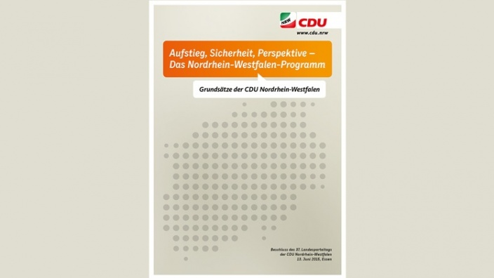 """""""Aufstieg, Sicherheit, Perspektive – Das Nordrhein-Westfalen-Programm"""""""