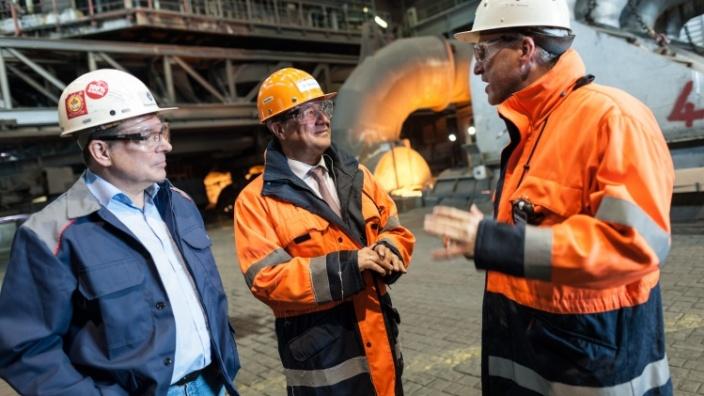 """Armin Laschet: """"Stahlarbeitsplätze brauchen Solidarität am Tag der Arbeit 2016"""""""