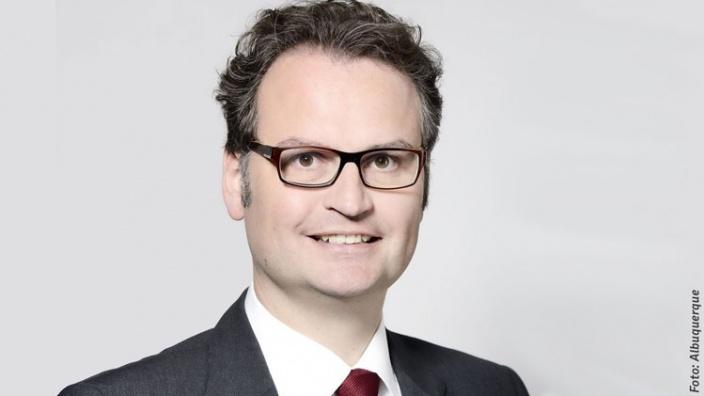 Armin Laschet gratuliert Günter Krings zur Wahl zum Vorsitzenden der CDU-Landesgruppe Nordrhein-Westfalen
