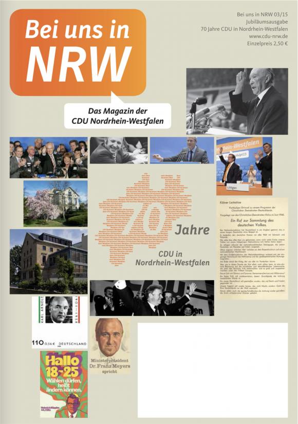 Ausgabe 03/15, Jubiläumsausgabe 70 Jahre