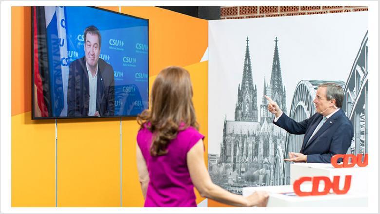 Erster digitaler Neujahrsempfang der CDU Nordrhein-Westfalen