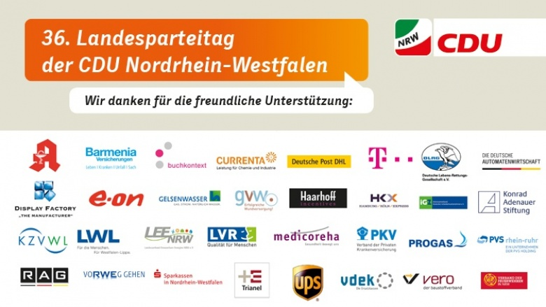 Landesparteitag Banner