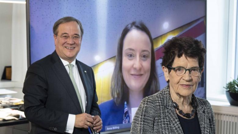 Laschet trifft Bundestagspräsidentin a.D. Prof. Dr. Rita Süssmuth und Landrätin Anna Katharina Bölling