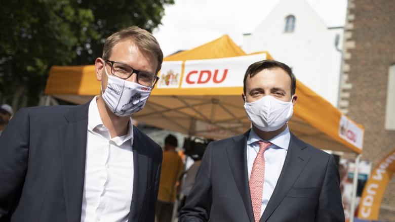 Jan-Philipp Büchler und Paul Ziemiak