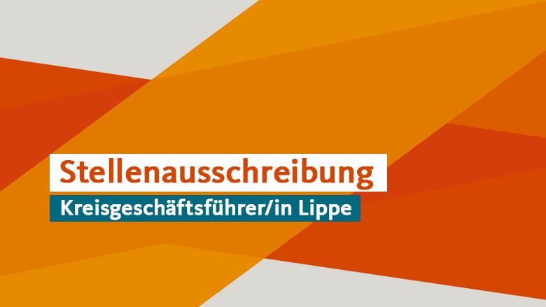 Stellenausschreibung Kreisgeschäftsführer/in Lippe
