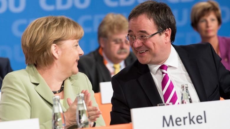 Merkel & Laschet