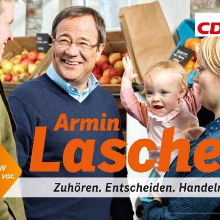 Landtagswahl: Großflächenmotive und Grundausstattung