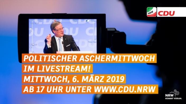 Livestream Politischer Aschermittwoch