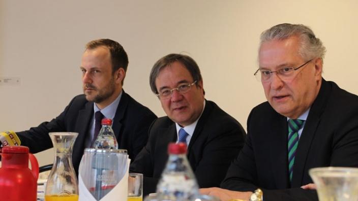 Armin Laschet stellt 10-Punkte-Papier für mehr Sicherheit in NRW vor – Terrorexperte Peter R. Neumann verstärkt Bosbach-Kommission
