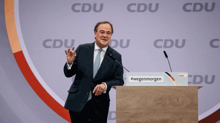 BEWERBUNGSREDE VON ARMIN LASCHET ZUR WAHL DES VORSITZENDEN DER CDU DEUTSCHLANDS