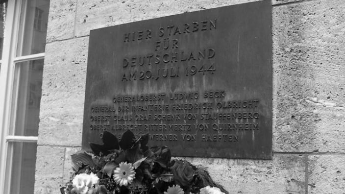 Wir erinnern an den militärischen Widerstand gegen den Nationalsozialismus