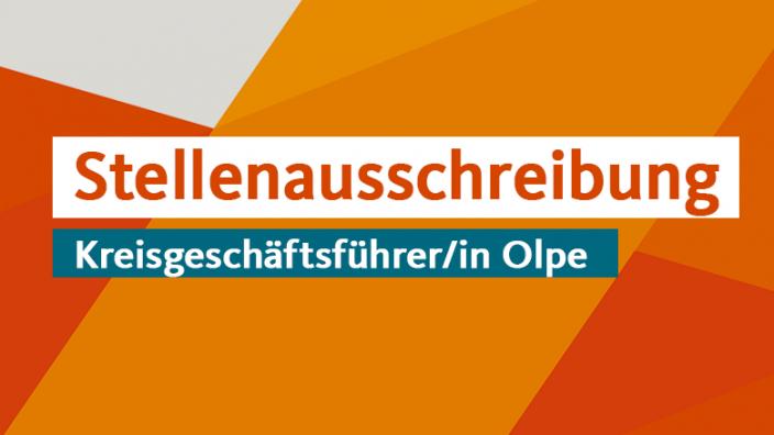 Stellenausschreibung Kreisgeschäftsführer/in Olpe