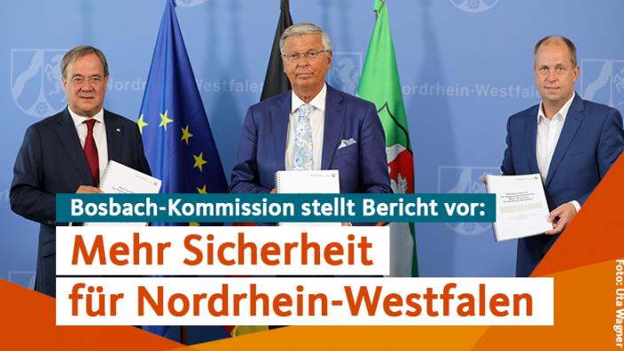 Mehr Sicherheit für Nordrhein-Westfalen